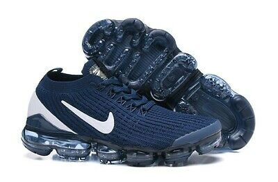 Nike Air VaporMax Flyknit 3.0 2019 Mens Running Shoes Navy/White Size 9 Only