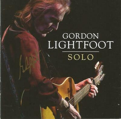 Gordon Lightfoot Autographed Solo CD #2