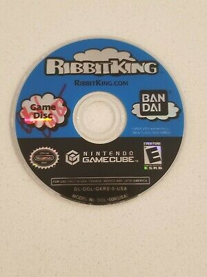 Ribbit King Nintendo Gamecube DISC ONLY (RARE)