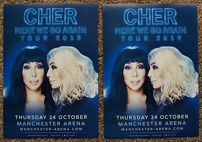 2 Flyers - Cher - Here We Go Again Tour - 24th October 2019 - Manchester Arena