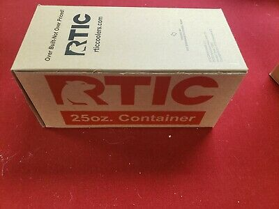 RTIC 25oz Container Red Food Prep Lunch NIB 24hr Ice 6hr Hot No Sweat Gifting +