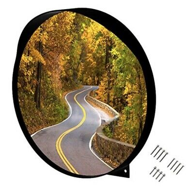 """24"""" Convex Mirror, Wide Angle View, Premium Quality, Curved Security Mirror"""