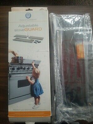 Prince Lionheart Shield-A-Burn Adjustable Stovetop Oven Stove Guard 0089 NEW