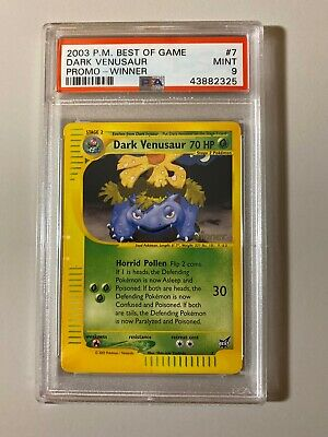 PROMO POKEMON BEST N° 7 DARK VENUSAUR L@@K