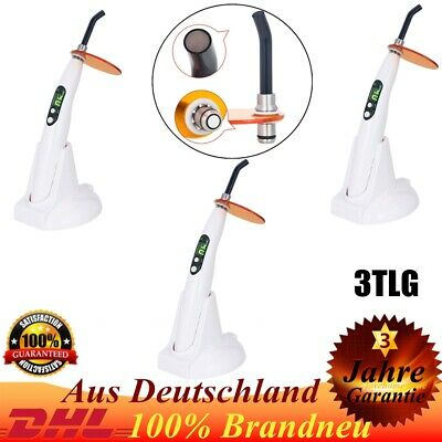 3* Woodpecker Style Wireless Curing Light Lamp LED-B Cordless w/ Charger