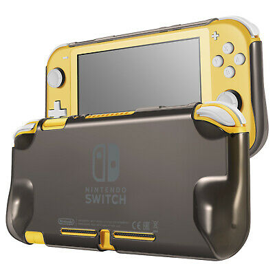Hard Case for Nintendo Switch Lite Case Skin Cover (Shadow Grey) Comfort Grip