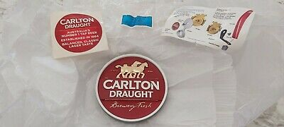 *NEW* Carlton Draught Beer Badge Tap Top Decal