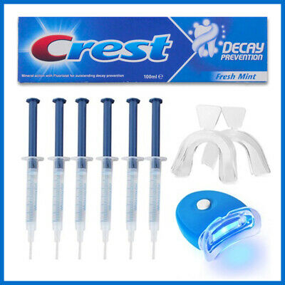 Professional Home Laser Teeth Whitening Kit + Crest3D Toothpaste 2 Week Supply