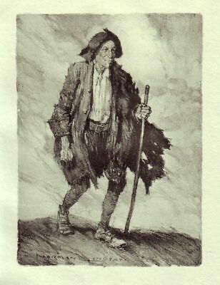Norman Lindsay  'The Gaberlunzie'  1928  Original Limited Edition Of 550