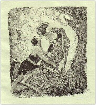 Norman Lindsay  'Fairy Story'  1928  Original Limited Edition Of 550