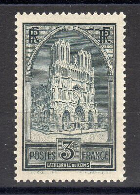 FRANCE: TIMBRE TYPE CATHEDRALE DE REIMS NEUF** N°259 Cote: 135,00 €