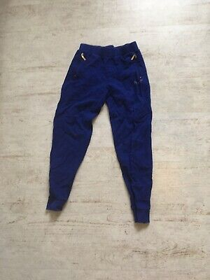 Blue Pineapple Joggers Age 9-10
