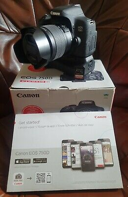 Canon EOS EOS 750D 24.2MP Digital SLR Camera -(18-55mm Lens) and more Low shots