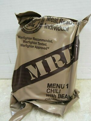 MRE Individual Meals Ready to Eat Military Food Rations Your Choice of Menu