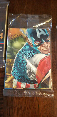 2011 Sdcc Comic Con Exclusive Upper Deck Marvel Avengers Promo Card Set Sealed
