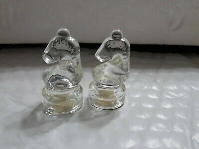 Glass Chess Replacement Piece Clear Queen 2/""
