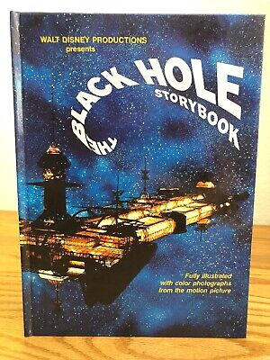 1979 THE BLACK HOLE STORYBOOK  Walt Disney Productions~Oversize Glossy Hardcover