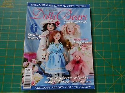 Australian Dolls Bears & Collectables Magazine - Vol 16 No 4 - Good Condition -