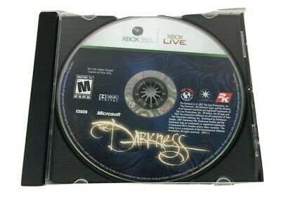 The Darkness (Microsoft Xbox 360, 2007) - Game Disc Only