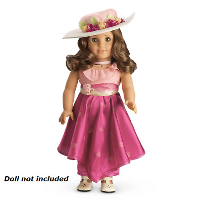 Retired New American Girl Rebecca's Movie Dress Complete Set  **New In Box**