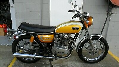 YAMAHA XS650 original, unrestored 1971