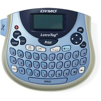Tabletop Label Maker Dymo LetraTag Personal Compact Portable Labeller Kit