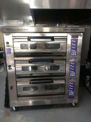 Pizza Oven Electric  3 Deck
