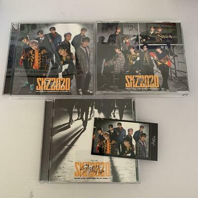 STRAY KIDS SKZ2020 3 type CD set 1 all member photocard cd dvd photo card