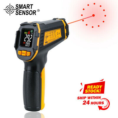 IR termometro Digital Infrared Thermometer Non-contact Pyrometer Hygrometer LCD