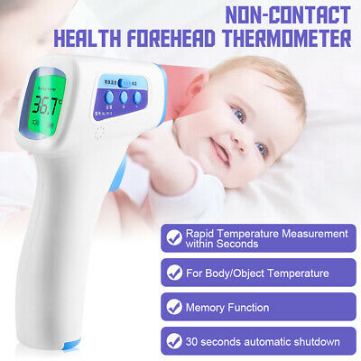 LCD Digital Infrared Body Thermometer Gun Forehead Baby Temperature Non Contact