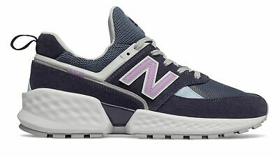 New Balance Men's 574 Sport Shoes Navy with White