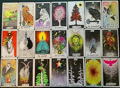 The Wild Unknown Tarot Deck - COLOUR PERSONALISED incl Guidebook & Keepsake box