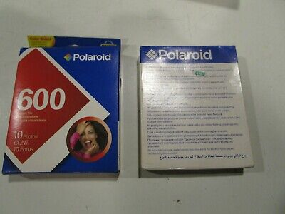 Polaroid 600 Instant Color Film sealed  Polaroid 600 Type Cameras Lot of 2 packs