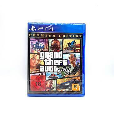 Grand Theft Auto 5 GTA V Premium Edition NEU OVP Deutsch PS4 Playstation 4 Sony