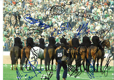 Rangers FC Legends Multi Signed 16 x 12 inch authentic football photo SS978D