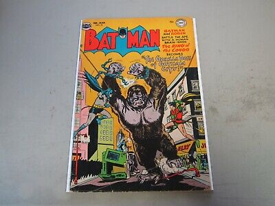 Batman #75 Comic Book 1953