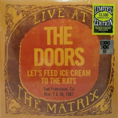 The Doors ‎Let's Feed Ice Cream To The Rats Live At The Matrix Part 2 Vinile Lp