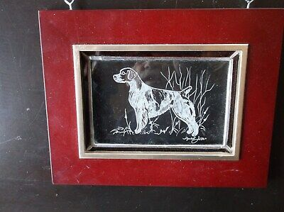 Brittany- Beautifully hand engraved Wall Plaque  by Ingrid Jonsson.