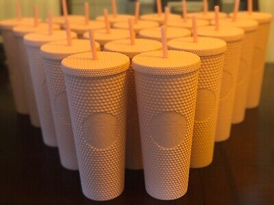 Starbucks Spring Collection 2020 Matte Pink Studded Tumbler Early Release