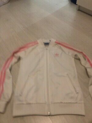 Girls 9-10 Adidas Zip Up Top