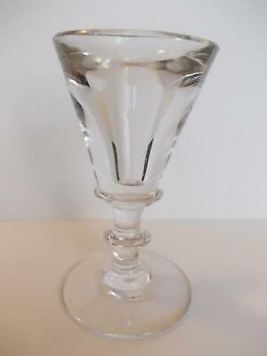 716 / Late 18Th Century - Early 19Th Century Hand Blown Toasting Glass .