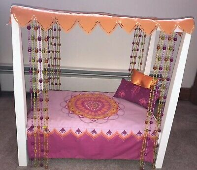American Girl Doll Julie's Bed Retired