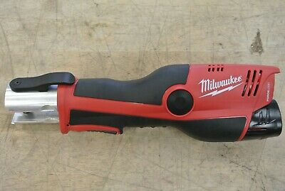 Milwaukee 2473-20 M12 FORCE LOGIC Copper Press Tool Only- NO JAWS pre-owned