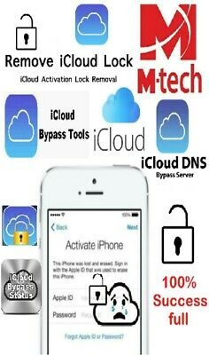 iCloud Activation Bypass Removal tools with guided tutorial for iPhone iPad