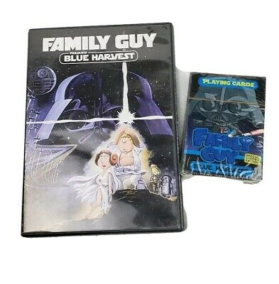 The Family Guy Blue Harvest Star Wars Episode Playing Cards New Sealed And DVD