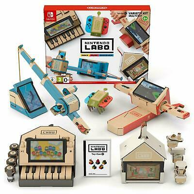 Nintendo Labo Toy-Con 01: Variety Kit for Nintendo Switch, 2018 Brand New in Box