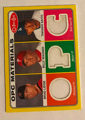 PS-30 2009 O-Pee-Chee Baseball Materials Brad Lidge Billy Wagner Takashi Saito