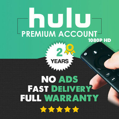 Hulu Premium No Commercials | 2 YEARS | FAST Delivery & Warranty