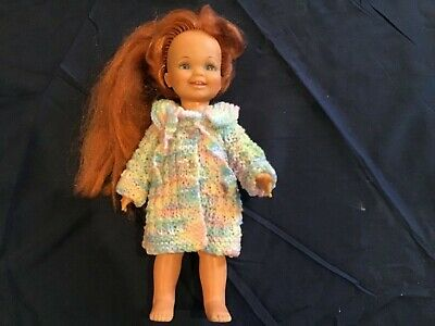 Hand knitted dolls clothes for 12 inch Cinnamon doll