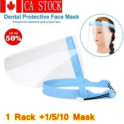 Full Face Shield Mask Clear Flip Up Visor fume Protection Safety Work Guard TOP